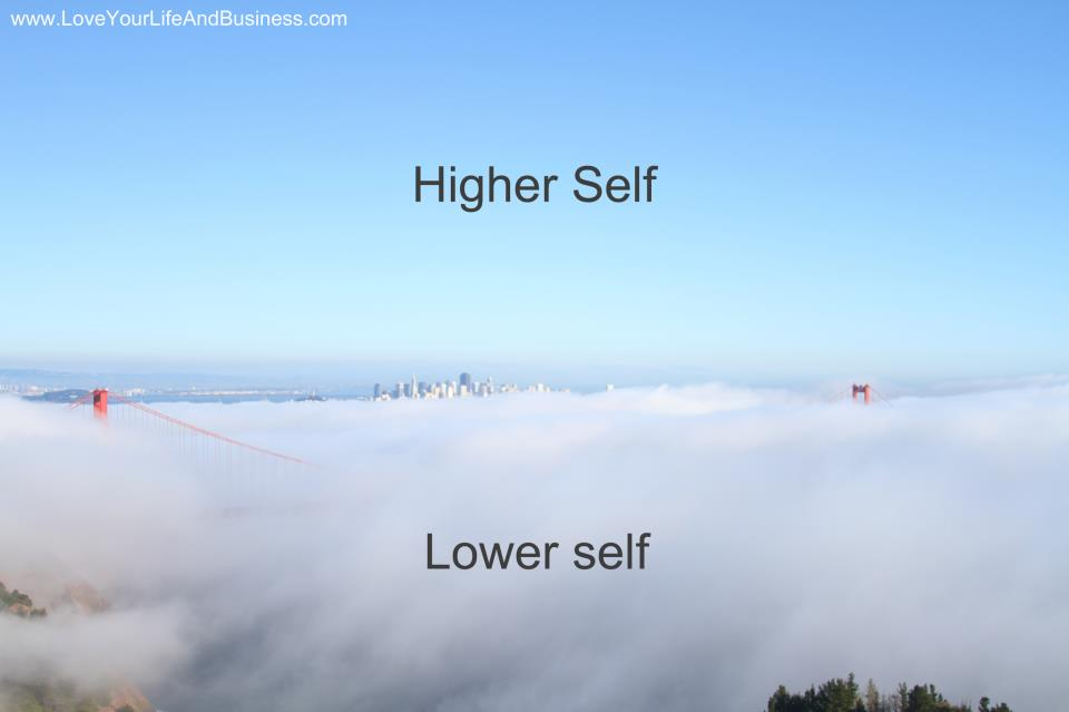 Higher Self Lower Self Small